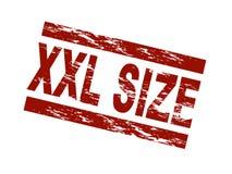 XXL Größe lizenzfreie abbildung
