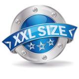 XXL-Größe lizenzfreie abbildung