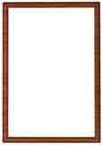 XXL grootte houten frame Stock Foto