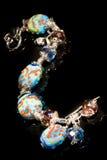 xxl léger coloré de peinture de bracelet Images libres de droits
