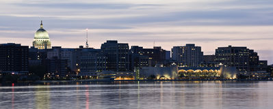 XXL Panorama of Madison Royalty Free Stock Photo