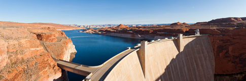 XXL photo of Glen Canyon Dam Royalty Free Stock Photos
