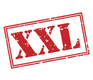 Xxl red stamp Royalty Free Stock Photos
