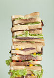 XXL sandwich Stock Images