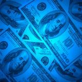 XXL size dollar background Stock Image