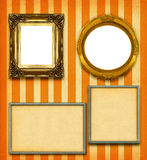 XXL size selection of picture frames Royalty Free Stock Image