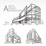 Architectural Abstract vector illustration
