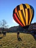 XXVII International Gathering of Hot Air Balloons in Mondovi Royalty Free Stock Photos