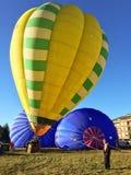 XXVII International Gathering of Hot Air Balloons in Mondovi Stock Photos