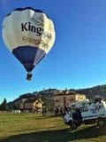 XXVII International Gathering of Hot Air Balloons in Mondovi Royalty Free Stock Images