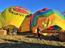 XXVII International Gathering of Hot Air Balloons in Mondovi Royalty Free Stock Image