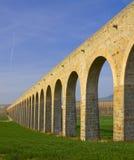 XXVIII century aqueduct Noain, Navarra Royalty Free Stock Images