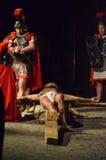 XXVIII edizione安蒂尼亚诺通过Crucis 库存图片