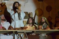 XXVIII edizione Antignano via Crucis immagine stock libera da diritti