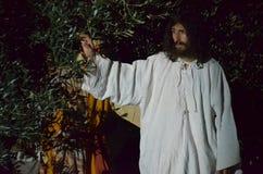 XXVIII edizione Antignano via Crucis immagini stock libere da diritti