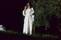 XXVIII edizione Antignano via Crucis fotografia stock libera da diritti