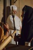 XXVIII edizione Antignano via Crucis fotografie stock libere da diritti