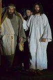 XXVIII edizione Antignano Via Crucis. Stock Photos