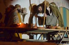XXVIII edizione Antignano Via Crucis. Royalty Free Stock Image