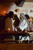 XXVIII edizione Antignano Via Crucis. Stock Photo