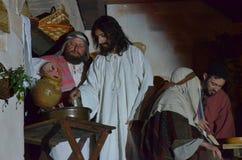 XXVIII edizione Antignano Via Crucis. Royalty Free Stock Images
