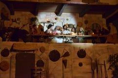 XXVIII edizione Antignano Via Crucis. Royalty Free Stock Photo