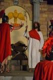 XXVIII edizione Antignano Via Crucis. Stock Image