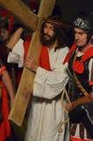 XXVIII edizione Antignano Via Crucis. Royalty Free Stock Photos