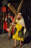 XXVIII edizione Antignano Via Crucis. Stock Photography