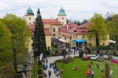 XXVIII Flower and Art Festival in Ksiaz Castle Stock Images