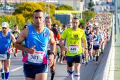 XXVIII Halbmarathon Bahia de Cadiz stockfoto