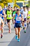 XXVIII Halbmarathon Bahia de Cadiz lizenzfreies stockfoto