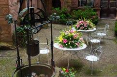 XXVIII kwiat i sztuka festiwal w Ksiaz kasztelu Zdjęcie Royalty Free