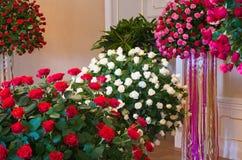 XXVIII kwiat i sztuka festiwal w Ksiaz kasztelu Obrazy Stock