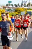 XXVIII mezza maratona Bahia de Cadiz fotografia stock