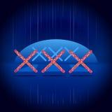 Xxx εικονίδιο Στοκ Φωτογραφίες