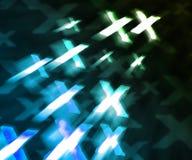 Μπλε XXX αφηρημένο υπόβαθρο Στοκ Φωτογραφίες