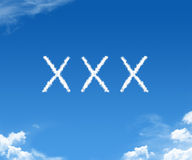 XXX clouds Stock Photos