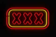 XXX muestra Foto de archivo