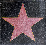 Xxx's star on Hollywood Walk Stock Image