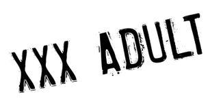 Xxx sello de goma del adulto Fotografía de archivo libre de regalías