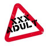 Xxx sello de goma del adulto Fotografía de archivo
