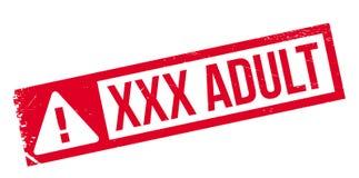 Xxx sello de goma del adulto Imágenes de archivo libres de regalías
