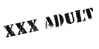 Xxx sello de goma del adulto Imagenes de archivo