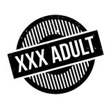 Xxx sello de goma del adulto Foto de archivo libre de regalías