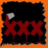 XXX Symbol Stock Images