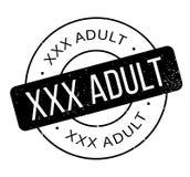 Xxx Volwassen rubberzegel Stock Afbeelding