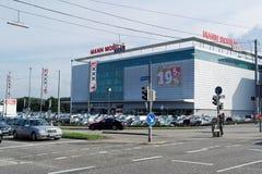XXXL -曼Mobilia在卡尔斯鲁厄 库存图片