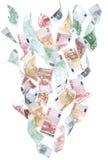 xxxl d'argent de fontaine Photographie stock