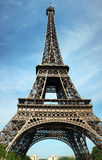 XXXXL High Eiffel Tower in Paris Stock Image